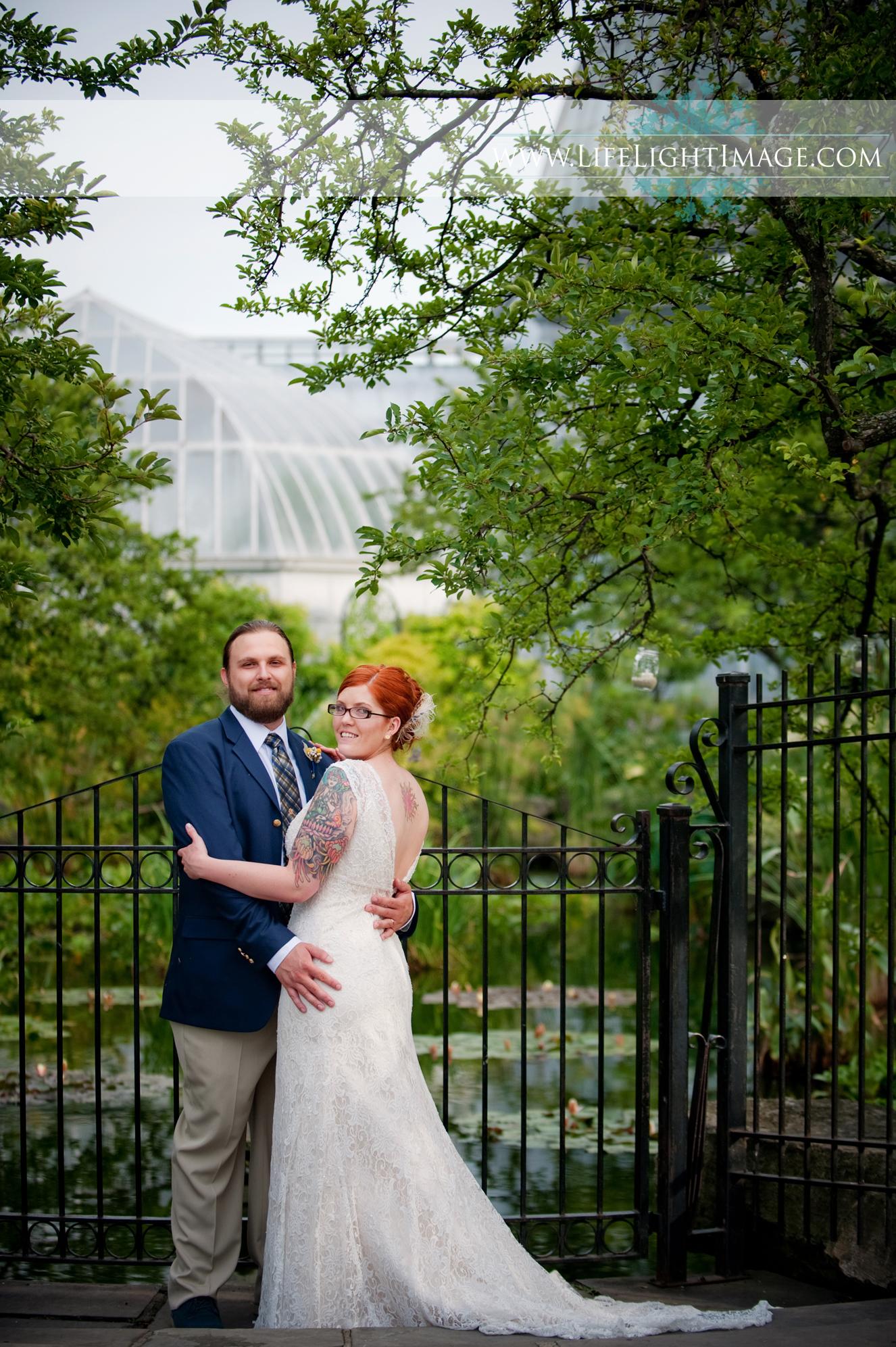 Detroit Conservatory Wedding