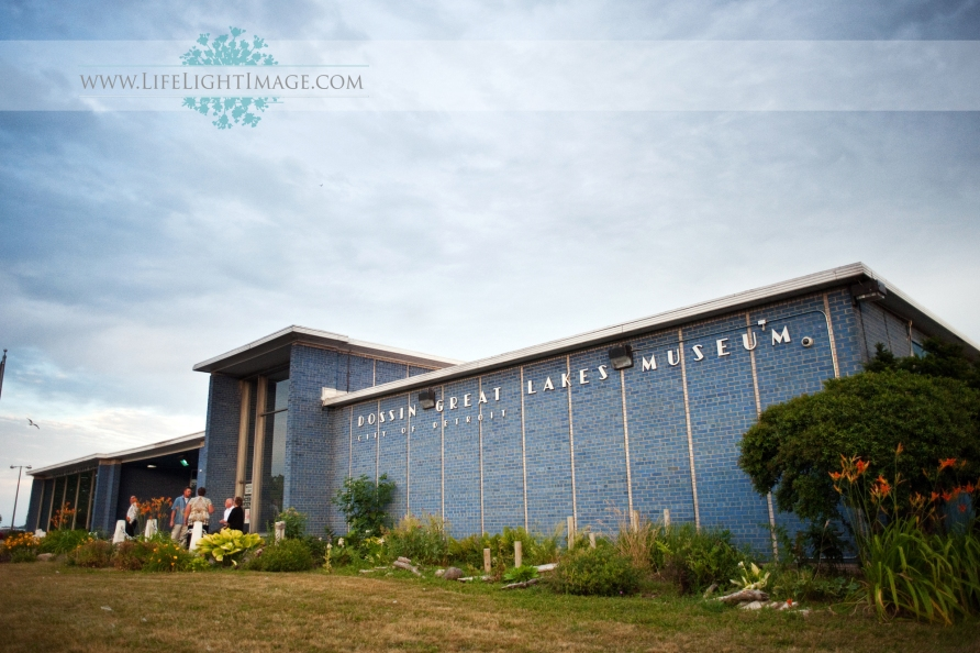 Dossin Great Lakes Museum Wedding